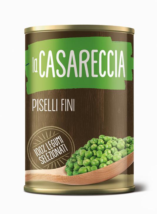 La Casareccia | Azienda Conserve Alimentari Eccellenze di Campania | Peas