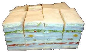 SANDWICHES DE MIGA  La Casa Argentina