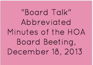 board talk