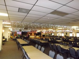 "The ""calm before the storm"" at La Casa's Rec Hall Saturday night."