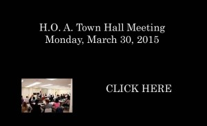 HOA Town Hall Meeting