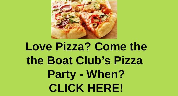 Boat Club Pizza Party – Feb 2018