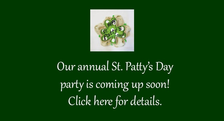 St. Patrick's Day Party – 2018