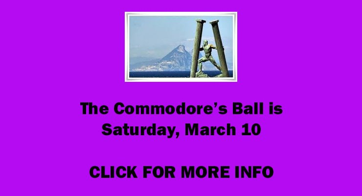 Commodore's Ball – March 10, 2018