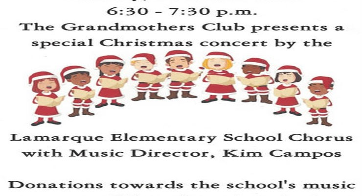 Children's Christmas Concert – Dec 11, 2018