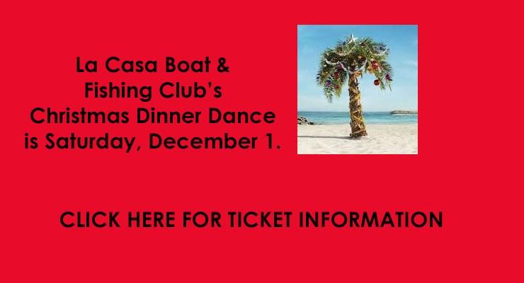 Boat & Fishing Club Christmas Dinner Dance – Dec 1, 2018