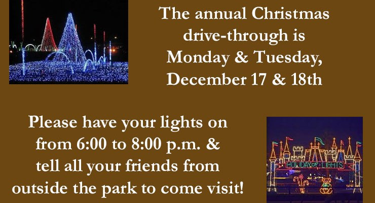 Community Light Show December, 2018