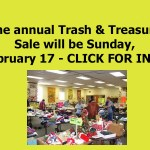 Trash & Treasure Sale 2019