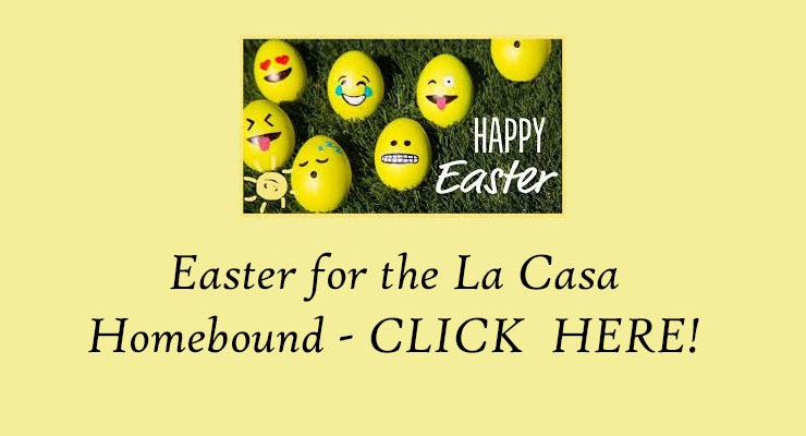 Easter for the Homebound – April 21, 2019
