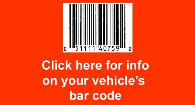 Bar Code Information – Oct. 2020