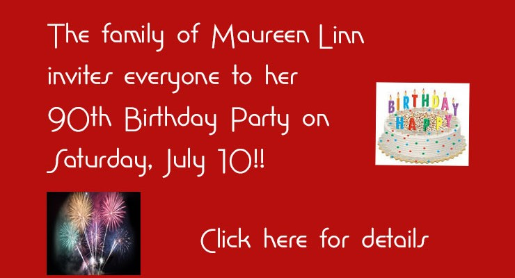 Maureen Linn's 90th Birthday Party