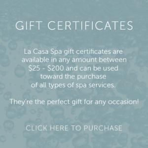 La Casa Gift Certificates