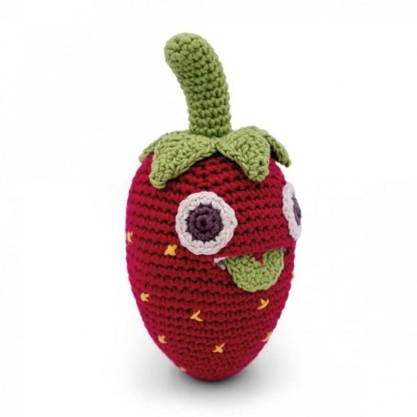 billy-la-fraise-hochet-bebe-en-coton-bio