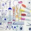 set de table en silicone à colorier ville futuriste super petit coloriage
