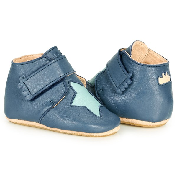 chaussons cuirs kiny étoile easy peasy