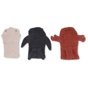 gants de toilettes enfant animaux