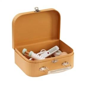 La mallette et accessoires de Docteur en bois blanc de la marque Kid's Concept