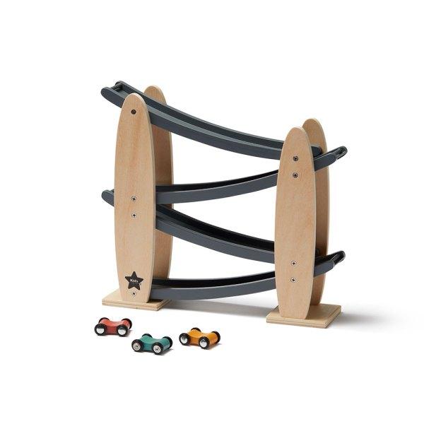 Piste de voiture en bois kids concept circuit voiture