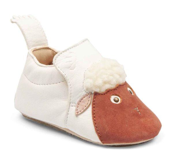 Chaussons en cuir blublu mouton easy peasy