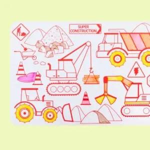 Mini Playmat SUPER CONSTRUCTION Réversible