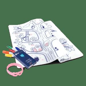 Set en silicone à colorier ARBRE MAGIQUE superpetit
