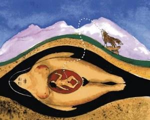 pintura utero