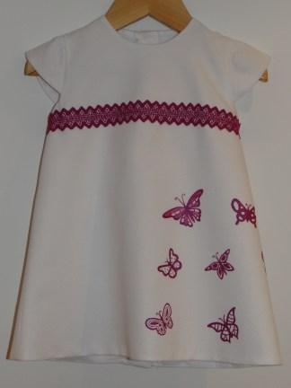 Vestido mariposas