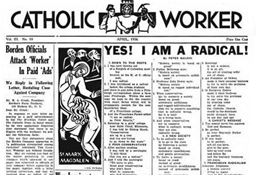 dorothy day response paper Dorothy day, servant of god  dorothy announced that the paper would maintain its pacifist stand  concern with the church's response to war led day to rome .
