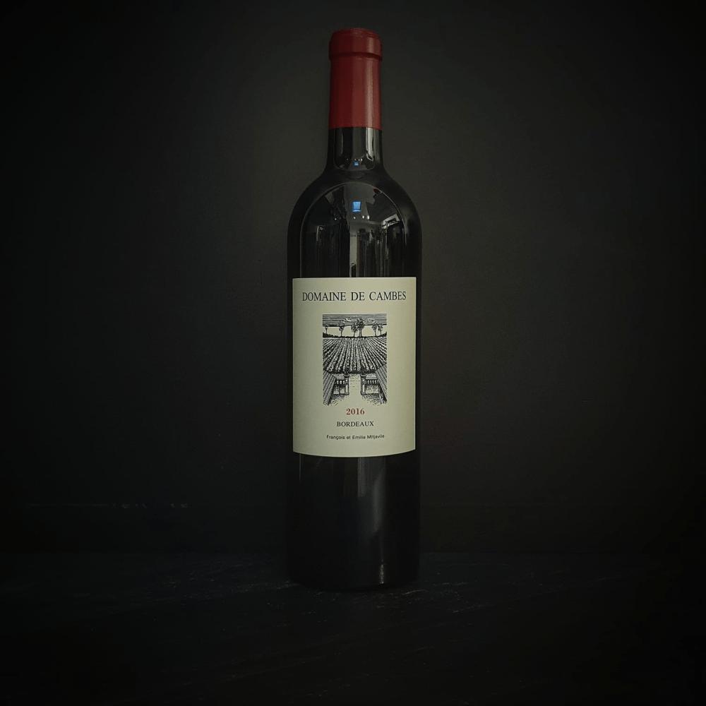 AOC Bordeaux - Domaine de Cambes - François et Emilie Mitjavile