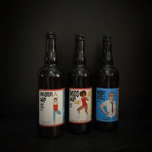 Bières en bouteilles de la Brasserie Ouest Coast Brewery