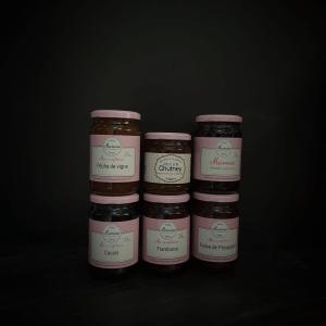 Épicerie sucrée : Confitures - Muroise & compagnie