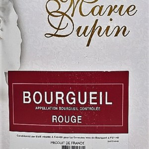 Marie Dupin rouge Bourgueil 3 litres