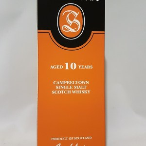 Springbank Campbeltown 10 ans single malt whisky 46°