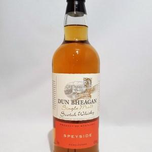 Dun Bheagan Speyside Single Malt Whisky 43°
