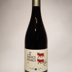 Les 2 vaches rouges Vin de France 100% tannat 2018