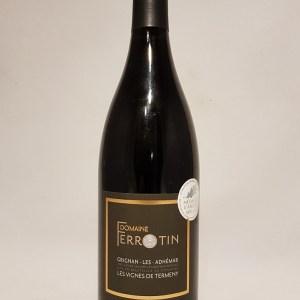 Domaine Ferrotin Les vignes de Termeny Grignan les Adhémar