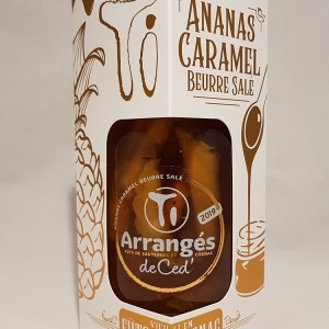 Ananas caramel beurre salé Ti arrangés de Ced 32°