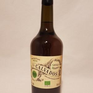 Calvados vieille réserve Doz de Dauzanges 40 % BIO