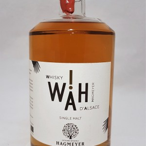 Whisky d'Alsace biologique single malt WAH! 43%