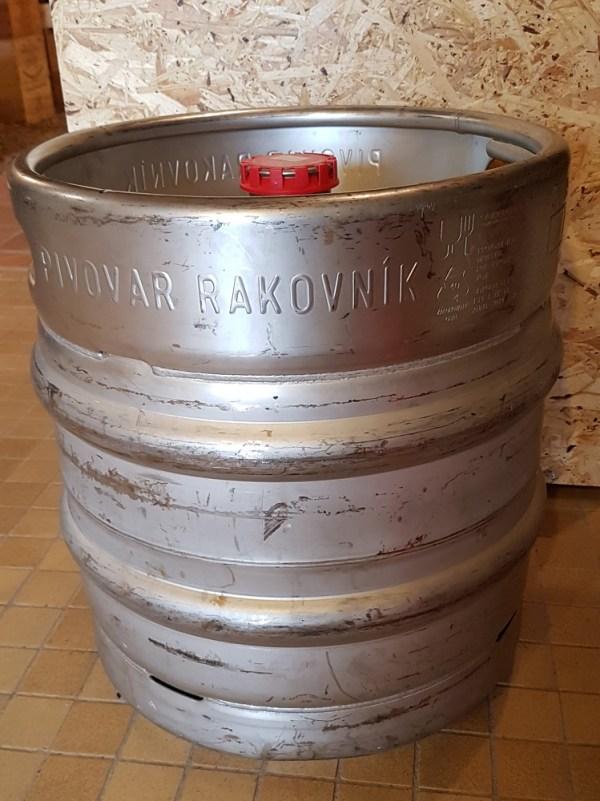 Fût 30 litres de bières Rakovnik » pragoise» Pils lager 4%