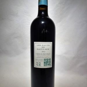 Les Hauts de Saint-Ser Rouge 2012 Côtes de Provence rouge BIO