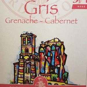 Rosé Gris Grenache – Cabernet Igp Ardèche 3 litres