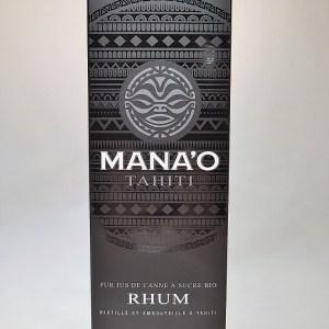 Rhum Mana'O Tahiti blanc 50° BIO