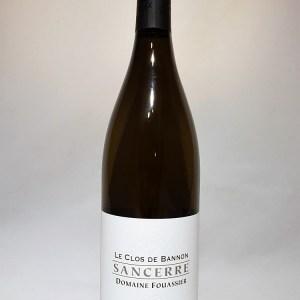 """Sancerre blanc """"Clos de Bannon"""" Domaine Fouassier 2018 BIO"""