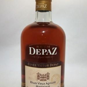 Rhum agricole Depaz cuvée Victor Depaz 41°