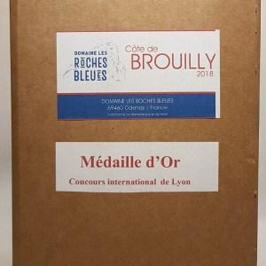 Côtes de Brouilly rouge 5 litres