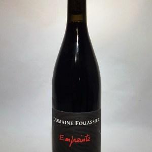 Sancerre rouge «Empreinte» Domaine Fouassier 2015 BIO