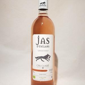 Jas D'esclans cru classé Côtes de Provence rosé 2020 BIO