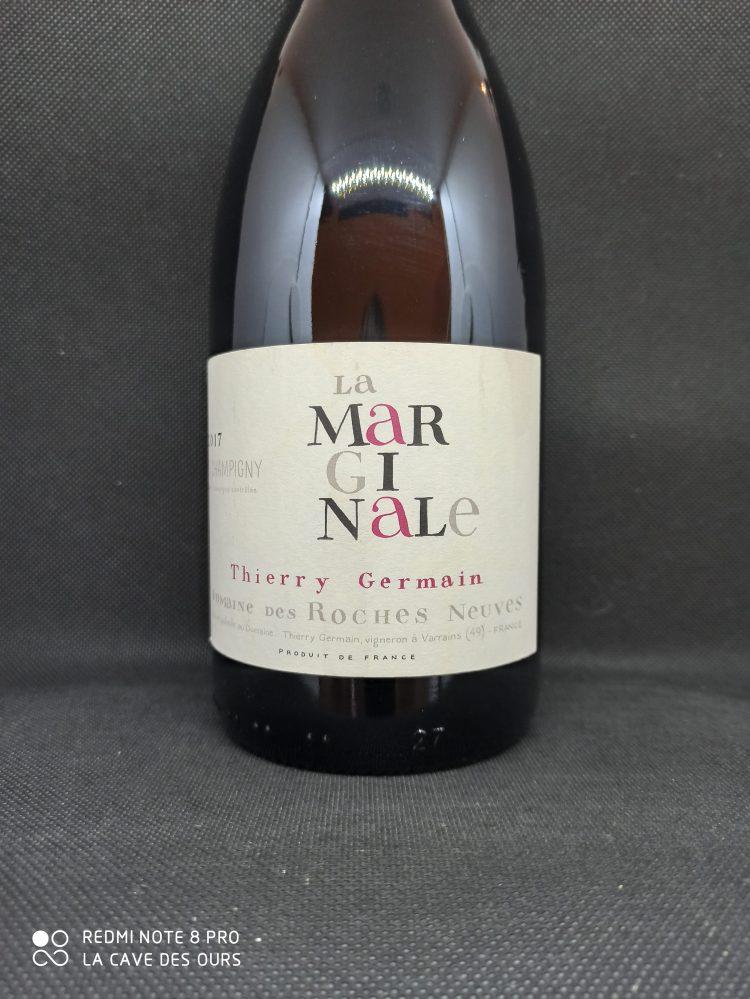 La Marginale close up label