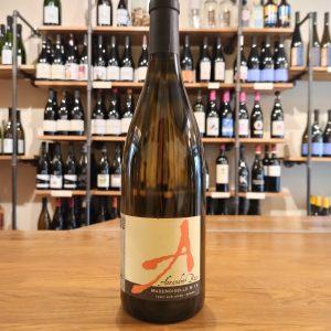 Mademoiselle M bottle white wine